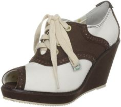 £30 Miss L Fire Women's Teacher's Pet Wedges Heels - Free One-Day Delivery & Return Shipping   Javari.co.uk
