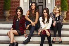 Lucy Hale, Shay Mitchell, Troian Bellisario and Ashley Benson, Pretty Little Liars