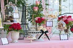 Glorious Treats » Paris B-Day Theme!