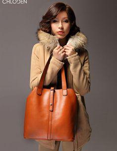 SINYO Women's Genuine Leather Handbag Tote Shoulder Fashion Party Bag 2061WB | eBay