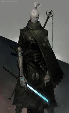 Manipulation by Zhihui Su Fantasy Character Design, Character Design Inspiration, Character Concept, Character Art, Arte Robot, Robot Art, Robots, Fantasy Rpg, Dark Fantasy Art