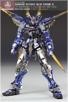 MG Gundam Astray Blue Frame D   Gundam Century
