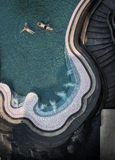Royal Cliff Grand Hotel, Thailandia. Riuscite a immaginarvi in questa piscina da sogno? - Royal Cliff Grand Hotel, Thailandia. Can you imagine yourself in this dream pool?