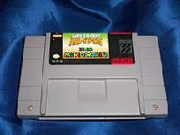 Super Mario World and Super Mario All-Stars. Two awesome games on 1 cartridge