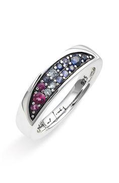 Elizabeth and James 'Eclipse' Sliced Multi Stone Ring $135