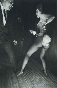 Playboy Club, Chicago, 1962  by  Elliott Erwitt
