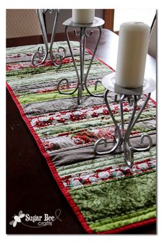 Holiday Strip Table Runner