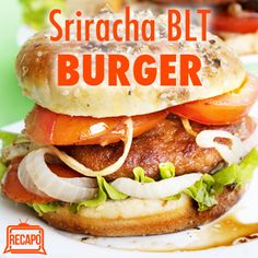 Rachael Ray: BLT Burgers with Sriracha Aioli Recipe or Sriracha Mayo