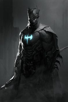 Christopher Trejo (Love the Axe-like Bat symbol).