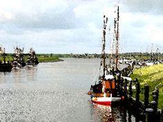 'Ostfriesland, Hafen Greetsiel' von Dirk h. Wendt bei artflakes.com als Poster oder Kunstdruck $18.03