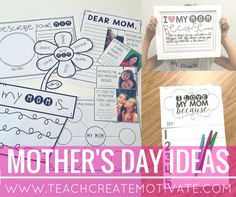 Mother's Day ideas f