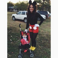Mommy daughter costume