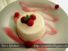 Panna Cotta - Retete culinare by Teo's Kitchen