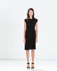STUDIO GATHERED DRESS