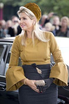 Queen Máxima of the Netherlands 10/18/2013
