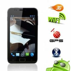 "Amazing prices at #DIGI4LESS!   5.0"" Android 4.0 Touch Screen Phone"