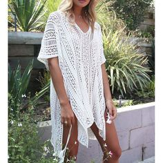 Knitted Pareo Beach 2017 New Sexy Swimsuit Cover up //Price: $39.22 & FREE Shipping //     #hashtag3