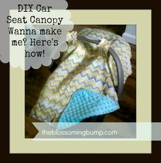 Check out my 'Easy Peasy DIY Car Seat Tutorial'!  Hint: It's easier than it looks!  http://www.theblossomingbump.com/?p=607
