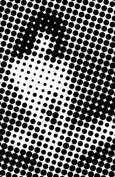 nevver:  Seeing spots #blackandwhite #artwork #spots http://www.pinterest.com/TheHitman14/black-and-white/
