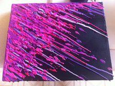 Pink Friday. - Wax Crayon Art