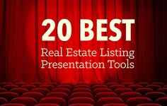 Make your real estate listing presentation a success with these top 20 tools that will enhance your listing presentation's functionality and imagery and help you go above and beyond with new features. http://plcstr.com/1t75aF5 #realestate #listingpresentations