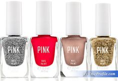Victoria Secret Fall 2013 Pink Nail Collection