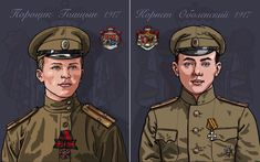 """De legendarische helden uit """"Luitenant Golitzyn"""", een melancholisch lied over twee prinsen die vochten in het leger van de contra-revolutionaire 'Witten' in de Russische burgeroorlog van 1917-1921. Baseball Cards, Sports, Movie Posters, Movies, Heroes, Hs Sports, Films, Film Poster, Cinema"""