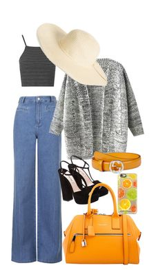"""""""Untitled #9"""" by ivaivona on Polyvore featuring Topshop, Miu Miu, Marc Jacobs, Gucci, Amici Accessories and Casetify"""