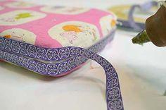 DIY Portable Wipes Case - #DIY #baby