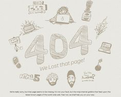 26 Creative 404 Error Page Designs
