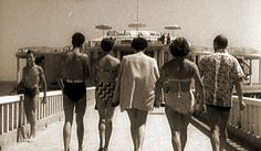 Una foto vacanziera dei tempi passati......Senigallia, Rotonda a mare, Marche , Italia.