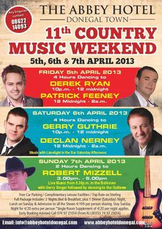 Country Music weekend in Donegal Town