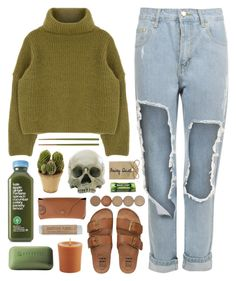 """""""if your world falls apart"""" by eddine ❤ liked on Polyvore featuring WearAll, Billabong, Pier 1 Imports, Nearly Natural, Borghese, Ray-Ban, Crate and Barrel and Wrigley's"""