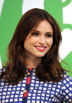 Pop singer Sophie Ellis-Bextor attending a photocall to launch the Internet Matters child safety campaign at the V&A Museum of Childhood, London, England, United Kingdom, 2014, photograph by Stuart C. Wilson.