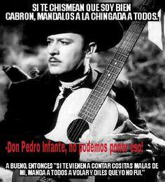 Pedro Infante, humor, funny