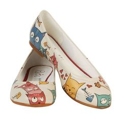 Cat Lovers Flats for @Leah Gifford