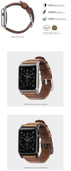 Nomad | Leather Strap for Apple Watch