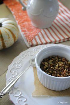 Grain Free Pumpkin Spice granola