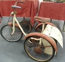 Triang tricycle with boot