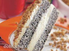 Výborný makový koláč -  Cesto: Cukor, 6 žĺtkov a teplú vodu vymiešame dopenista, postupne pridáme sneh zo 7 bielkov, preosiatu múku...