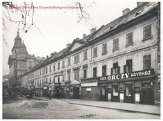 Café Orzcy has the longest history among the Hungarian capital's cafés. Established in 1795 it was open until The café was also a borse for private teachers such as a well-known leather trading center in Europe Old Pictures, Old Photos, Exhibition Display, Budapest Hungary, Homeland, Historical Photos, The Past, Street View, Europe