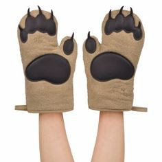 Get your bear claws here. Fred & Friends Bear Hands Oven Mitts, Set of Cute Kitchen, Kitchen Items, Kitchen Gadgets, Kitchen Products, Kitchen Dining, Kitchen Tools, Kitchen Stuff, Kitchen Electronics, Kitchen Upgrades
