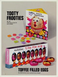 Rowntree Easter Eggs from the and gallery from York Press Old Sweets, Vintage Sweets, Retro Sweets, Retro Food, Retro Ads, 1980s Childhood, My Childhood Memories, Sweet Memories, Nostalgia 70s