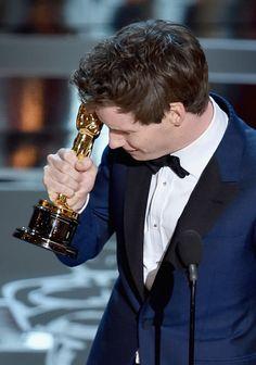 Eddie Redmayne Photos: #Oscars2015: Eddie Redmaynes Oscar Night