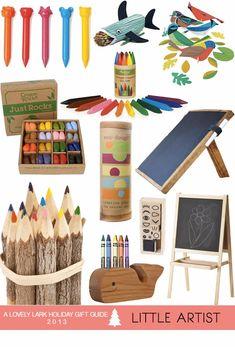 A Lovely Lark: Holiday Gift Guide 2013: Little Artist