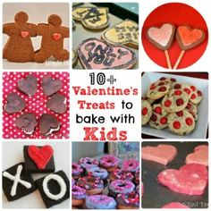 Valentine's treats for kids to bake.