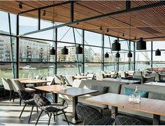FARO Channelside Bar & Restaurant in Helsinki, Finnland.