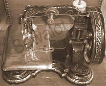 A super rare Newton Wilson Queen Bess sewing machine. Vintage Sewing Machines, Princess Of Wales, Queen, Antiques, Antiquities, Antique, Old Stuff