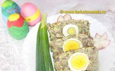 Retete Culinare - Drob de miel - reteta veche din Dobrogea Romanian Food, Home Food, Recipies, Pizza, Eggs, Traditional, Cooking, Breakfast, Foods
