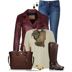 """""""Tory Burch Riding Boots"""" by honkytonkdancer on Polyvore"""